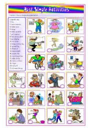 past simple pack past simple activities 21 irregular verbs u2013 2