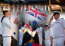 Flag Ceremony Meaning The Tradition Of Colours And Sunset Royal Australian Navy