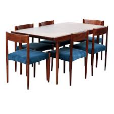 Rosewood Dining Room Set Rosewood Dining Room Set With Six Chairs And Dining Table