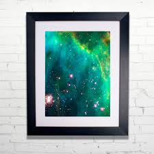 Personalized World Map by Personalized Map Of The Stars Print In Frame