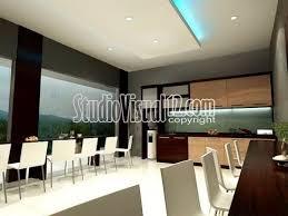 Gaya Interior Desain Interior Furniture Kantin Kantor Gaya Minimalis Office