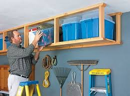 Build Wood Garage Storage by Best 25 Overhead Garage Storage Ideas On Pinterest Diy Garage