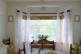 Bamboo Curtains For Windows Homework A Creative Blog Homeroom Bay Window Makeover With