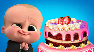 kids learn cooking with baby boss real cake maker children play