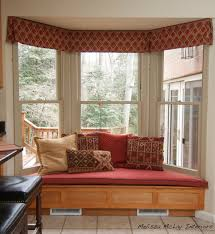 Pillow Tops Feature Design Ideas Bay Window Seat Cushions Custom Bay Window