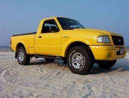 Yellow Ford Ranger Truck - 31x10 5 on a stock rim ranger forums the ultimate ford ranger
