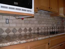 travertine and glass tile backsplash unique appealing tumbled