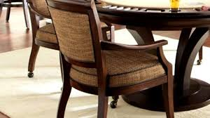 rolling dining room chairs rolling dining room chairs amazing chair wonderful with arms and