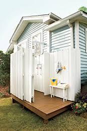 outdoor living outdoor shower