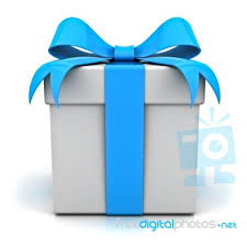 gift boxes with bow gift box with blue ribbon bow stock image royalty free image id