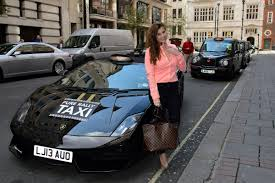 first lamborghini ride in london u0027s first lamborghini cab extravaganzi