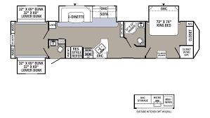 small travel trailer floor plans 100 puma travel trailers floor plans palomino puma 32 fbis