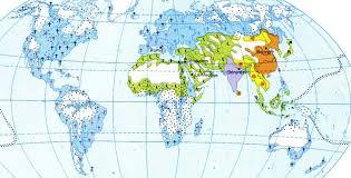 World Religion Map Www Mappi Net World Maps Populations Maps