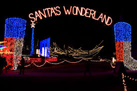 christmas lights in college station texas santa s wonderland college station texas glen vigus