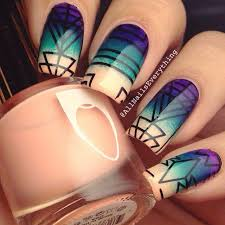 best 25 tribal print nails ideas on pinterest tribal nail