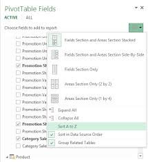 Sort A Pivot Table Sort The Power Pivot Measures And Fields In The Pivottable