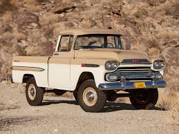 Classic Chevrolet 4x4 Trucks - 1959 chevrolet napco apache 31 deluxe fleetside pickup truck