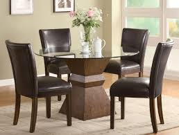 Dining Tables  Table Glass Replacement Home Depot Glass Dinette - Glass top dining table home depot