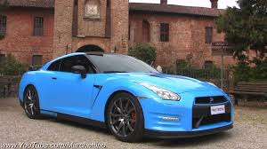 nissan sports car blue wrapping my nissan gt r baby blue youtube