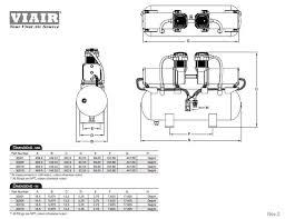 viair 30018 200psi dual 380c high pressure 2on2 air system