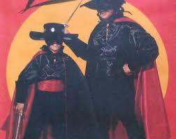 super hero costumes zorro size 5 6 children halloween