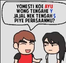 Meme Komic - lucu lucuan part 1 meme komik bahasa jawa lucu