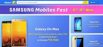 mobile deals aimed at black samsung galaxy s7 at rs 29 990 in samsung mobiles fest sale on