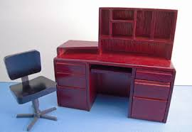 Computer Desk Mahogany Mahogany Computer Desk And Chair 1 12 Scale