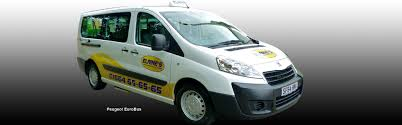 peugeot taxi elaine u0027s taxi services in melton mowbray and leicestershire