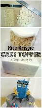 rice krispie cake topper tutorial a turtle u0027s life for me
