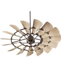 quorum ceiling fans with lights quorum 96015 86 windmill 60 inch oiled bronze with weathered oak
