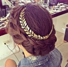 gold hair accessories jewels grecian crown grecian headband gold leaf headband hair