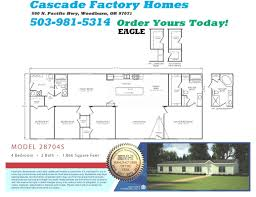 moble home floor plans 4 bedroom single wide mobile homes floor plans redman double