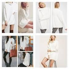 free people slouchy ottoman tunic free people sweaters ottoman slouchy sweater tunic nwt poshmark