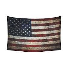 interestprint american flag wall art home decor usa flag fourth