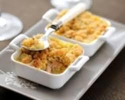 menu cuisine az recette crumble de foie gras aux pommes