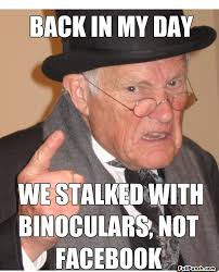 Memes About Stalkers - this new feature lets you know who has been stalking your facebook