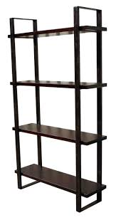 Iron And Wood Bookcase Wood And Iron Bookcase Best Shower Collection