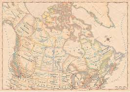 The Map Of Canada by Atlas Of True Names Canadian Geographic