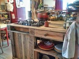 Kitchen Islands With Stove by Pallet Kitchen Island Pallet Furniture