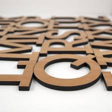 alphabet wooden wall hanging abc baby nursery theme wall