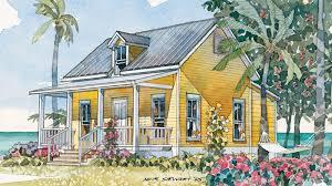 beachside bungalow coastal living southern living house plans