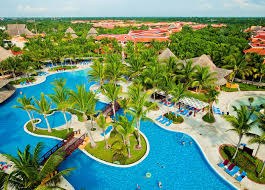 Playa Del Carmen Mexico Map by Barcelo Maya Palace