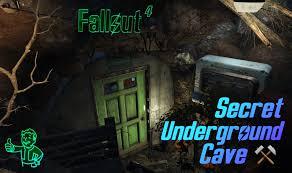 fallout 4 u0027secret underground cave u0027 settlement at coastal