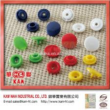 high quality all types of cloth plastic jean snap button color