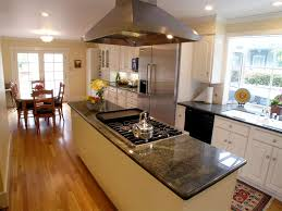 kitchen with stove in island 7 appealing kitchen islands with cooktops digital photograph