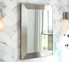 pottery barn medicine cabinet glass medicine cabinet aweinspiring design inside beveled mirror