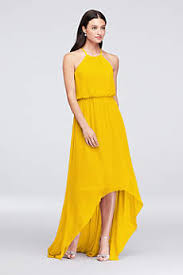 yellow dresses for weddings bridesmaid dresses gowns 100 colors david s bridal