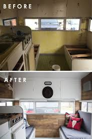 rustic modern rv tour rustic modern rv and square feet