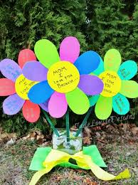 s day flowers gifts i you because mothers day craft flowers for kids to create